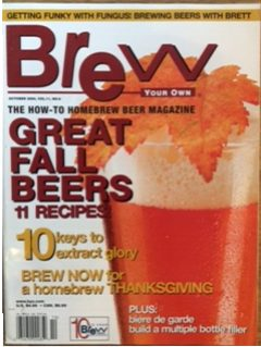 Brew Your OWn Okt 2005